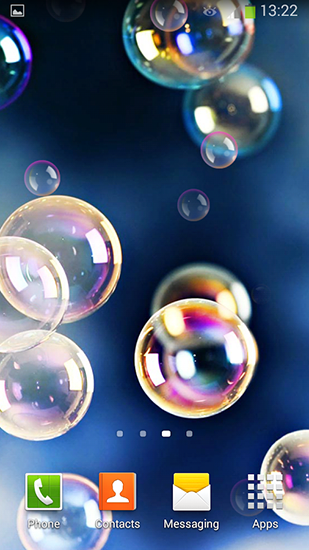 Download livewallpaper Bubbles for Android. Get full version of Android apk livewallpaper Bubbles for tablet and phone.