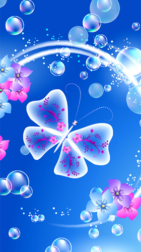 Descargar butterflies by fantastic live wallpapers para for Bajar fondos de pantalla con movimiento gratis para android