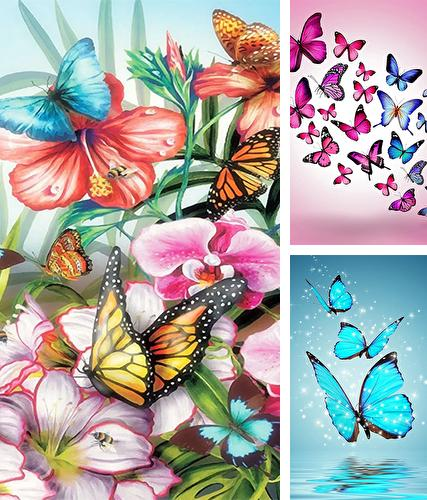 Butterflies by Happy live wallpapers