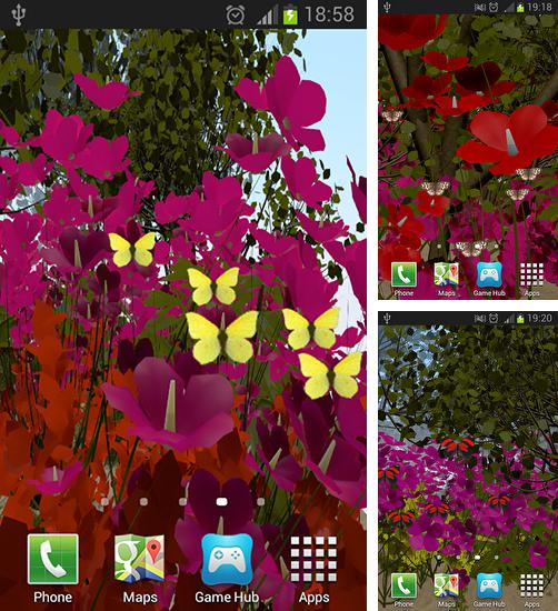 In addition to live wallpaper Maple: Droplets for Android phones and tablets, you can also download Butterflies by Wizzhard for free.