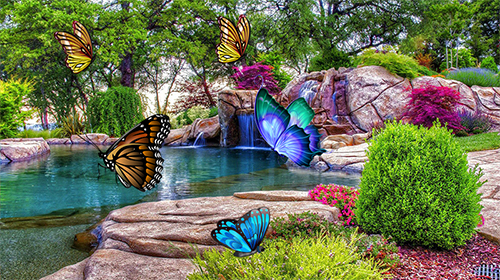 Butterfly 3d By Taptechy Live Wallpaper For Android