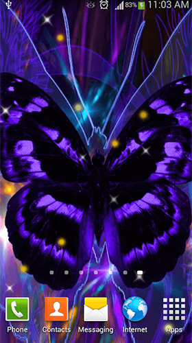 Kostenloses Android-Live Wallpaper Schmetterling. Vollversion der Android-apk-App Butterfly by Dream World HD Live Wallpapers für Tablets und Telefone.