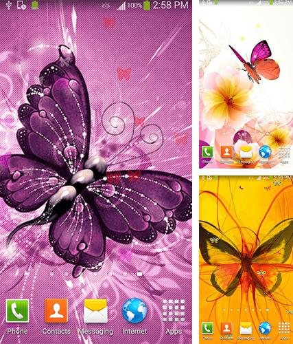 Butterfly by Dream World HD Live Wallpapers