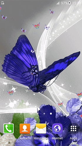 Screenshots of the Butterfly by Free Wallpapers and Backgrounds for Android tablet, phone.
