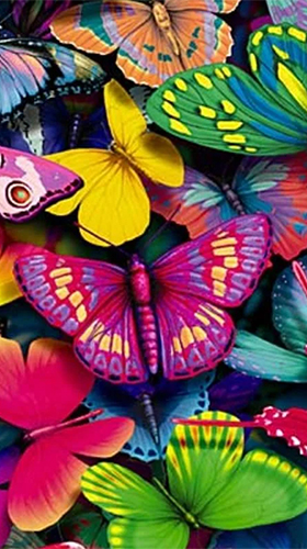 Screenshots of the Butterfly by HQ Awesome Live Wallpaper for Android tablet, phone.
