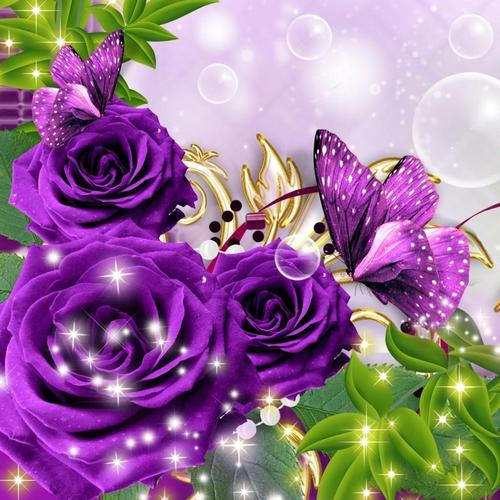 Butterfly Magic 3D Live Wallpaper For Android. Butterfly