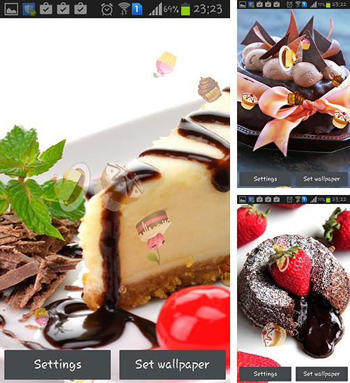 In addition to live wallpaper Zebra by Wallpaper art for Android phones and tablets, you can also download Cake for free.