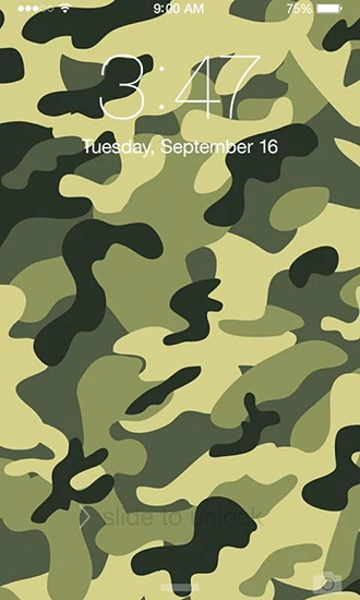 Screenshots of the Camouflage for Android tablet, phone.