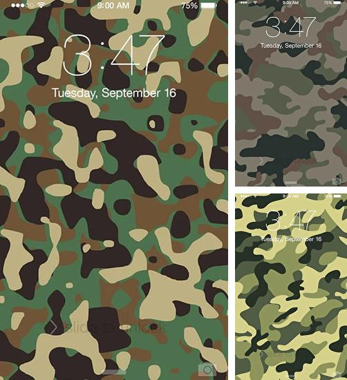 In addition to live wallpaper Lightning 3D for Android phones and tablets, you can also download Camouflage for free.