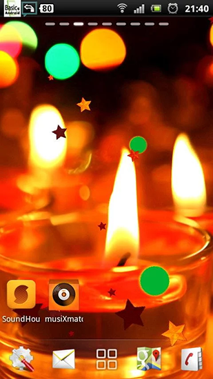 Download Candle - livewallpaper for Android. Candle apk - free download.