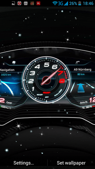 Car Dashboard Live Wallpaper For Android Free Download Tablet And Phone