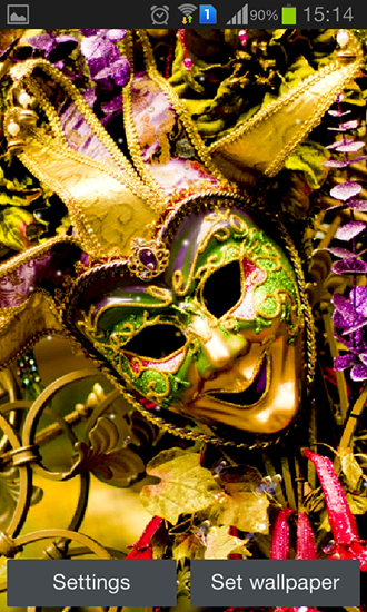 Download livewallpaper Carnival mask for Android. Get full version of Android apk livewallpaper Carnival mask for tablet and phone.