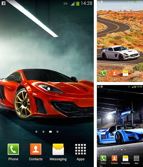 Zusätzlich zum Live Wallpaper Flugzeuge für Android Mobiltelefone und Tablets, können Sie auch Cars by Cute live wallpapers and backgrounds, Autos kostenlos herunterladen.