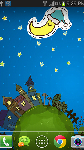 Screenshots of the Cartoon city for Android tablet, phone.