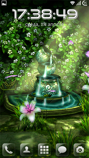 Celtic garden HD. mob.org; »; Live wallpapers