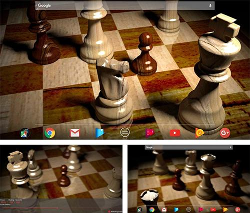 Download live wallpaper Chess 3D for Android. Get full version of Android apk livewallpaper Chess 3D for tablet and phone.