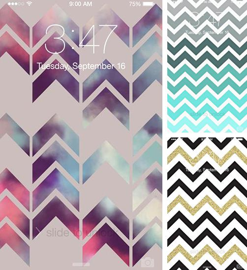 In addition to live wallpaper Flowers live wallpaper for Android phones and tablets, you can also download Chevron for free.