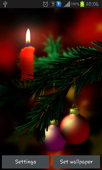Christmas 3D Live Wallpaper For Android Free Download