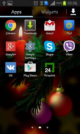 Descargar christmas 3d para android gratis el fondo de for Bajar fondos de pantalla animados gratis