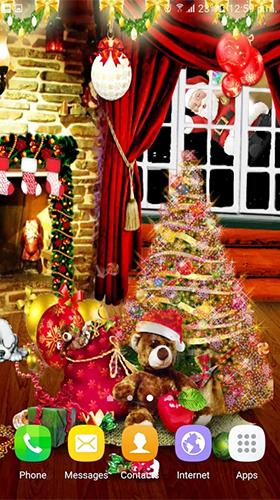Christmas By Appspundit Infotech Pour Android A Telecharger Gratuitement Fond D Ecran Anime Noel Sous Android