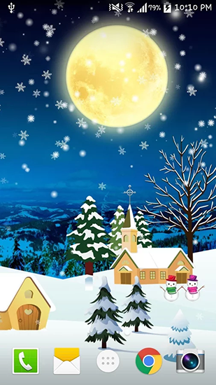 Christmas by Live wallpaper hd