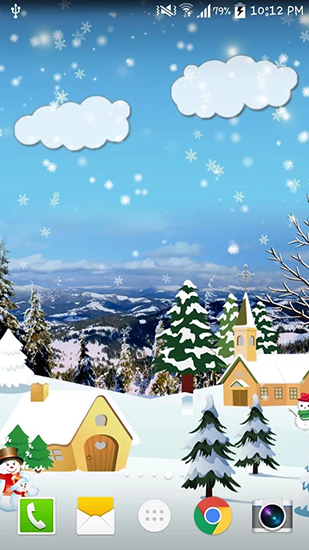 Capturas de pantalla de Christmas by Live wallpaper hd para tabletas y teléfonos Android.