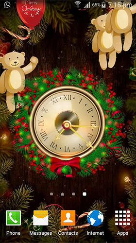Download livewallpaper Christmas: Clock by Appspundit Infotech for Android. Get full version of Android apk livewallpaper Christmas: Clock by Appspundit Infotech for tablet and phone.