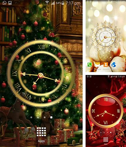 Download live wallpaper Christmas: Clock by Appspundit Infotech for Android. Get full version of Android apk livewallpaper Christmas: Clock by Appspundit Infotech for tablet and phone.