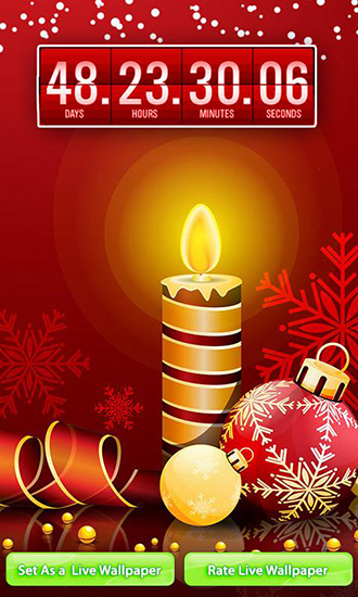 Christmas Countdown Live Wallpaper For Android