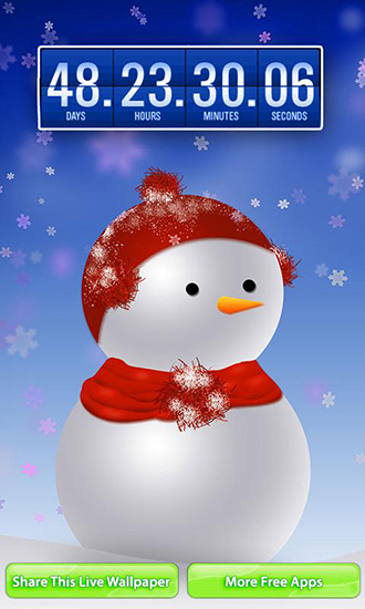 Download livewallpaper Christmas: Countdown for Android. Get full version of Android apk livewallpaper Christmas: Countdown for tablet and phone.