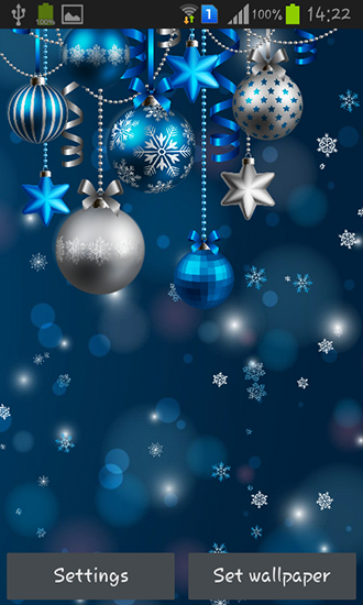 Christmas decorations live wallpaper for Android. Christmas decorations free download for tablet ...