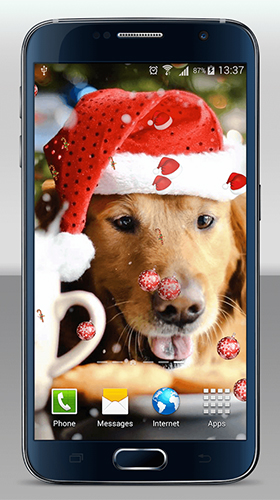 Download livewallpaper Christmas dogs for Android. Get full version of Android apk livewallpaper Christmas dogs for tablet and phone.