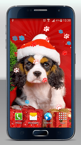 Download Christmas dogs - livewallpaper for Android. Christmas dogs apk - free download.