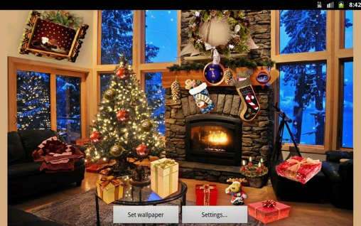 Download livewallpaper Christmas fireplace for Android. Get full version of Android apk livewallpaper Christmas fireplace for tablet and phone.