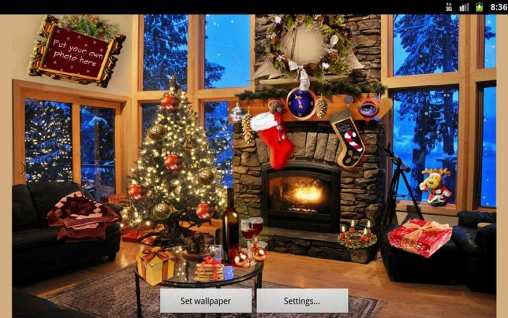 Download Christmas fireplace - livewallpaper for Android. Christmas fireplace apk - free download.