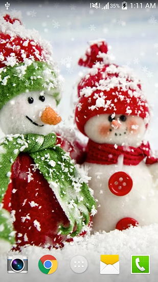 screenshots of the christmas hd by live wallpaper hd for android tablet phone - Christmas Hd Live Wallpaper