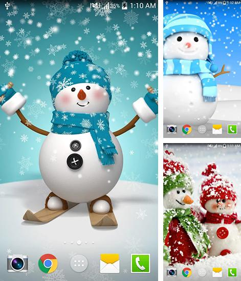 In addition to live wallpaper Photo sky at night HD for Android phones and tablets, you can also download Christmas HD by Live wallpaper hd for free.