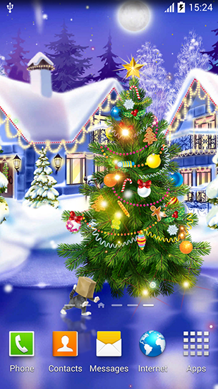 Download livewallpaper Christmas ice rink for Android. Get full version of Android apk livewallpaper Christmas ice rink for tablet and phone.