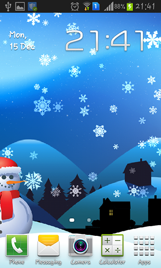 Christmas magic live wallpaper for Android  Christmas magic