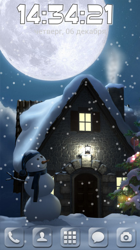 Download Christmas moon - livewallpaper for Android. Christmas moon apk - free download.