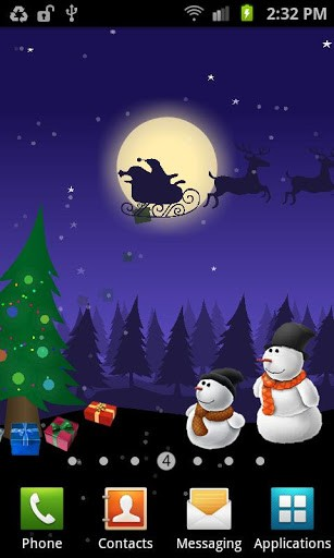 Download livewallpaper Christmas: Moving world for Android. Get full version of Android apk livewallpaper Christmas: Moving world for tablet and phone.