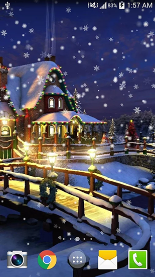 Download livewallpaper Christmas night for Android. Get full version of Android apk livewallpaper Christmas night for tablet and phone.
