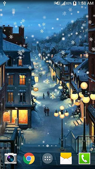 Download Christmas night - livewallpaper for Android. Christmas night apk - free download.