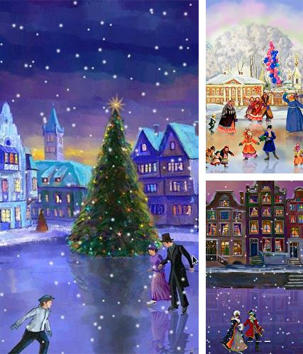 Download live wallpaper Christmas rink by 7art Studio for Android. Get full version of Android apk livewallpaper Christmas rink by 7art Studio for tablet and phone.