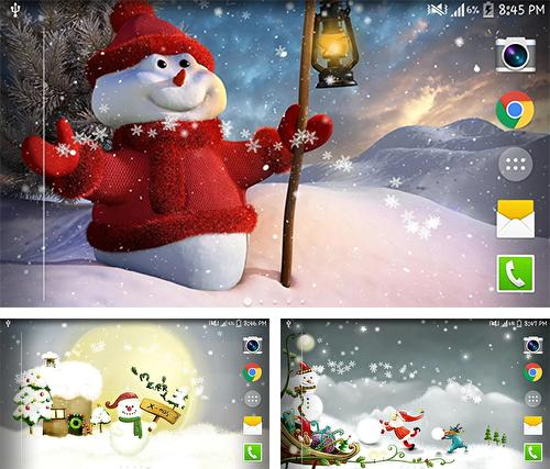 Download live wallpaper Christmas snow by Live wallpaper HD for Android. Get full version of Android apk livewallpaper Christmas snow by Live wallpaper HD for tablet and phone.