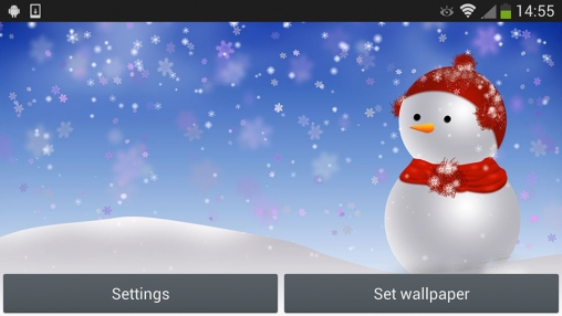 Download livewallpaper Christmas snowman for Android. Get full version of Android apk livewallpaper Christmas snowman for tablet and phone.