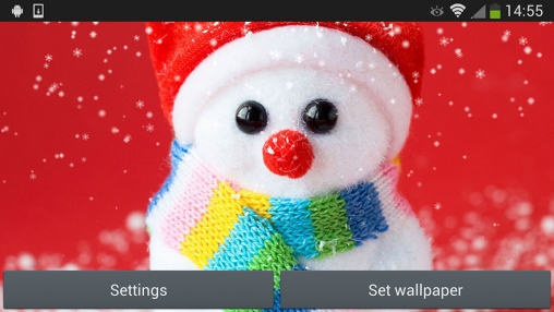 Download Christmas snowman - livewallpaper for Android. Christmas snowman apk - free download.