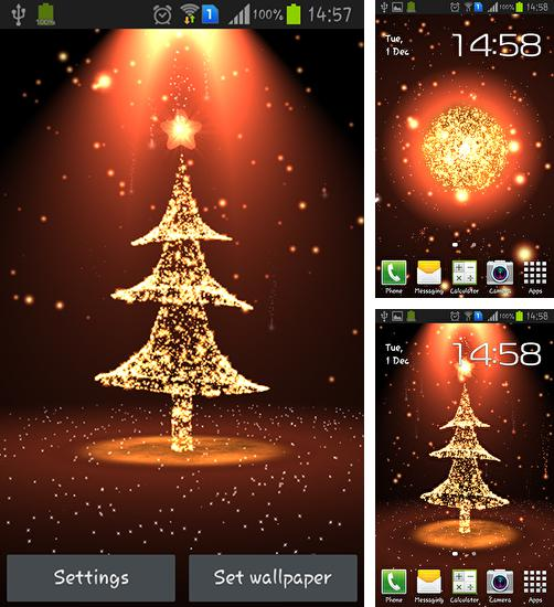 In addition to Christmas tree live wallpapers for Android, you can download other free Android live wallpapers for Ulefone Paris.