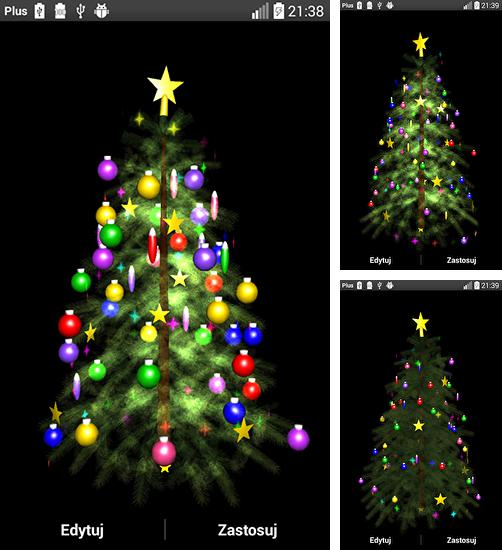 In addition to live wallpaper Spring Sakura Trees for Android phones and tablets, you can also download Christmas tree 3D by Zbigniew Ross for free.