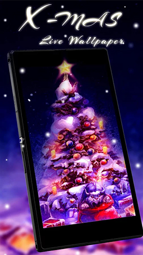 Christmas tree by Live Wallpaper Workshop